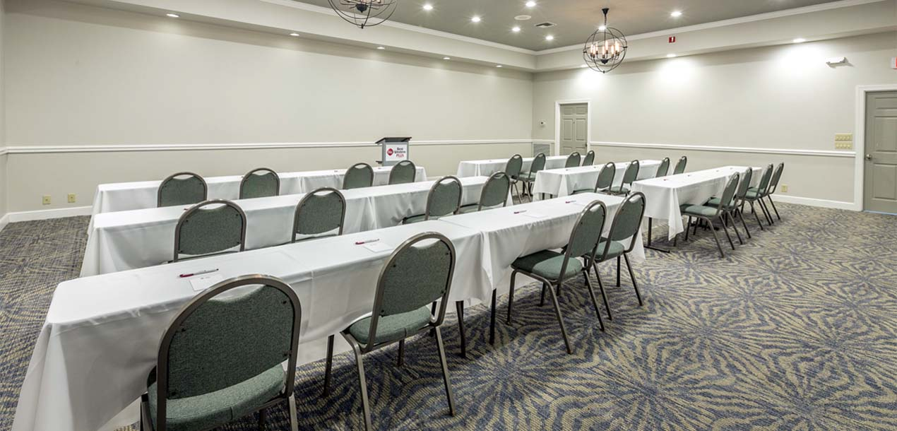 Conference room and seating